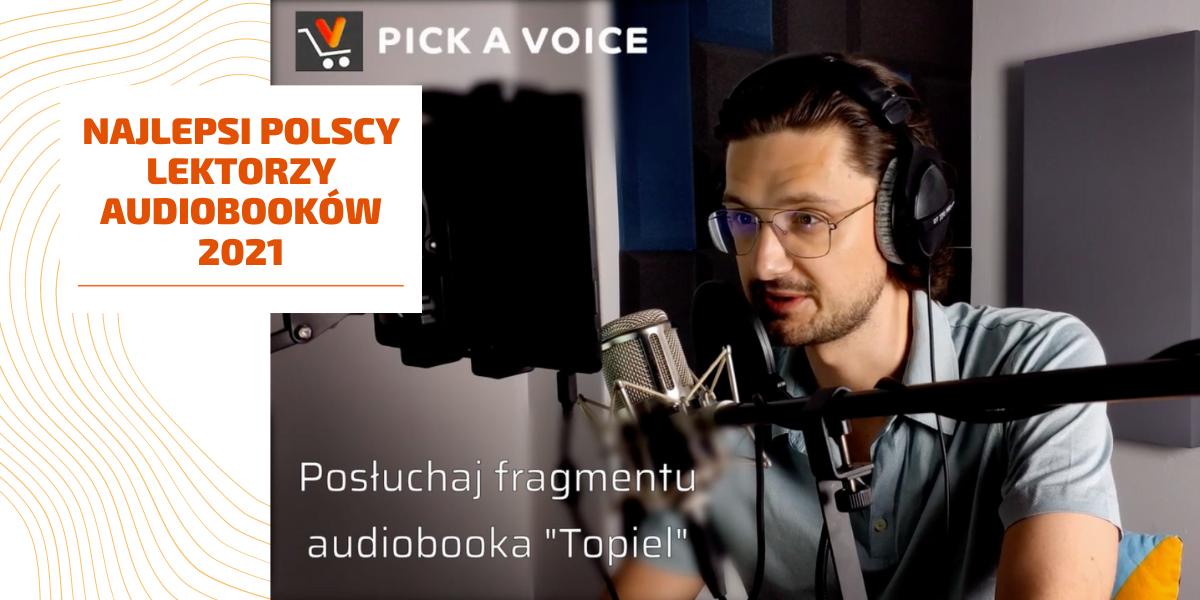 filip kosior czyta audiobooka studio nagrań pick a voice